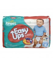 Pampers Easy Ups Boys Mega Pack