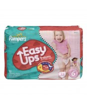 Pampers Easy Ups Girls Mega Pack