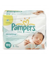 Pampers Sensitive Wipes Refill