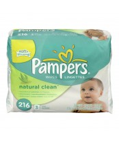 Pampers SoftCare Unscented Baby Wipes