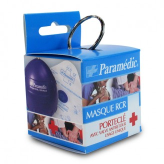 Paramedic Disposable Resuscitation Mask (Key Ring)
