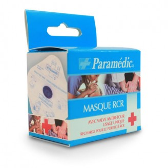 Paramedic Disposable Resuscitation Mask with Valve