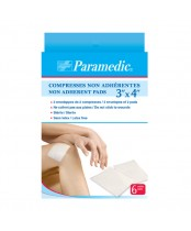 Paramedic Non-Adherent Pads 3 Inch x 4 Inch