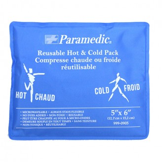 Paramedic Reusable Hot & Cold Pack 4 Inch x 6 Inch