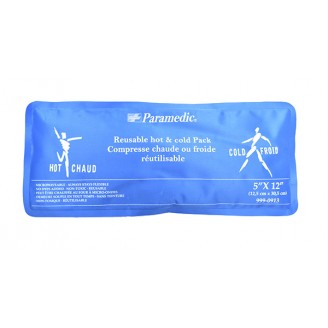 Paramedic Reusable Hot & Cold Pack 5 Inch x 12 Inch