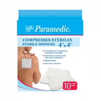 Paramedic Sterile Sponges 4 Inch x 4 Inch