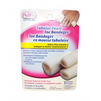 Pedifix Tubular-Foam Toe Bandages
