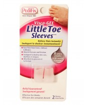 Pedifix Visco-Gel Little Toe Sleeves