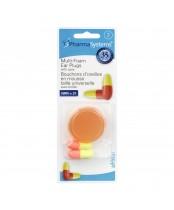 PharmaSystems Multi-Foam Ear Plugs