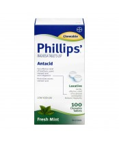 Phillips' Antacid + Laxative Magnesia Tablets USP
