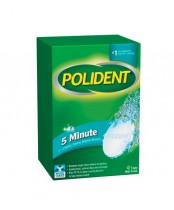 Polident 5-Minute Denture Cleanser