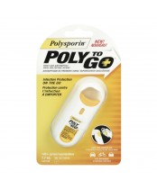 Polysporin Poly To Go First Aid Antiseptic Pain Relieving Spray