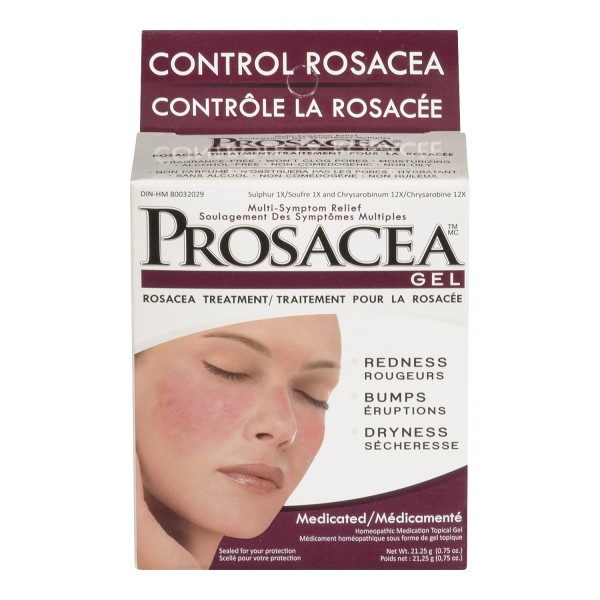 Buy Prosacea Gel Homeopathic Rosacea Treatment In Canada Free Shipping Healthsnap Ca
