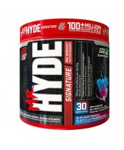ProSupps Mr Hyde Signature Pre Workout Blue Razz Popsicle