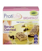 ProtiLife Diet High Protein Nutritional Supplement Breakfast Bars