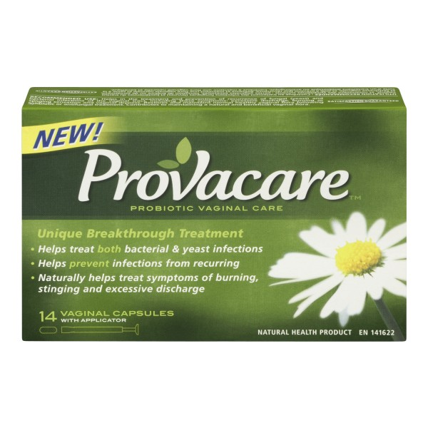 Probiotic capsules yeast infection urinaire