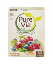 Pure Via Zero Calorie Sweetener Packets