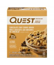 Quest Chocolate Chip Cookie Dough Flavoured Protein Bar