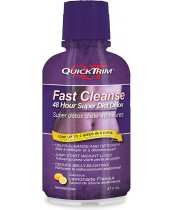 QuickTrim Fast Cleanse 48 Hour Super Detox Lemonade Flavour Cleanse