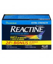 Reactine Extra Strength