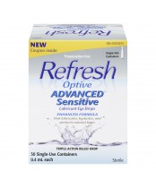 Refresh Optive Advanced Sensitive Lubricant Eye Drops
