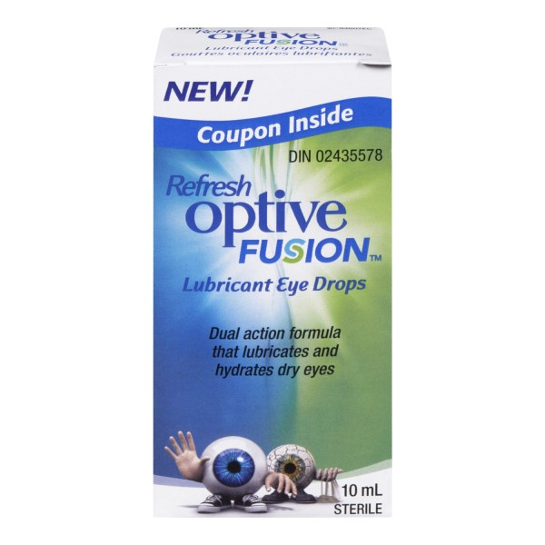 Treadmill Dry Lube: Buy Refresh Optive Fusion Lubricant Eye Drops In Canada