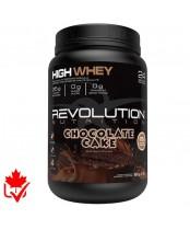 Revolution Nutrition High Whey Protein Powder -  Chocolate Cake