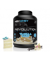 Revolution Nutrition High Whey Protein Powder -  Vanilla Cake