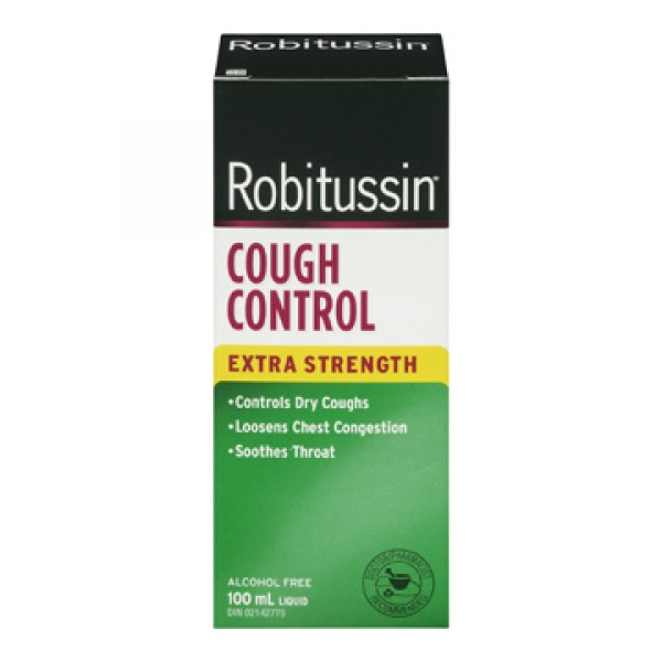 Buy Robitussin Extra Strength Cough Control in Canada ...