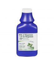 Rougier Milk of Magnesia USP Antacid Laxative Liquid