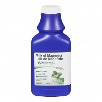 Rougier Milk of Magnesia USP Antacid Laxative Liquid