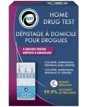RST Home Drug Test - 4 Drugs