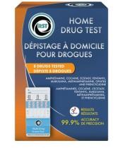 RST Home Drug Test - 8 Drugs