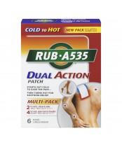 Rub A535 Dual Action Patches