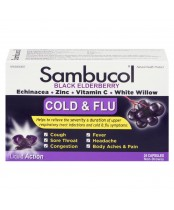 Sambucol Black Elderberry Cold & Flu