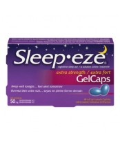 Sleep Eze Extra Strength Gel Caps