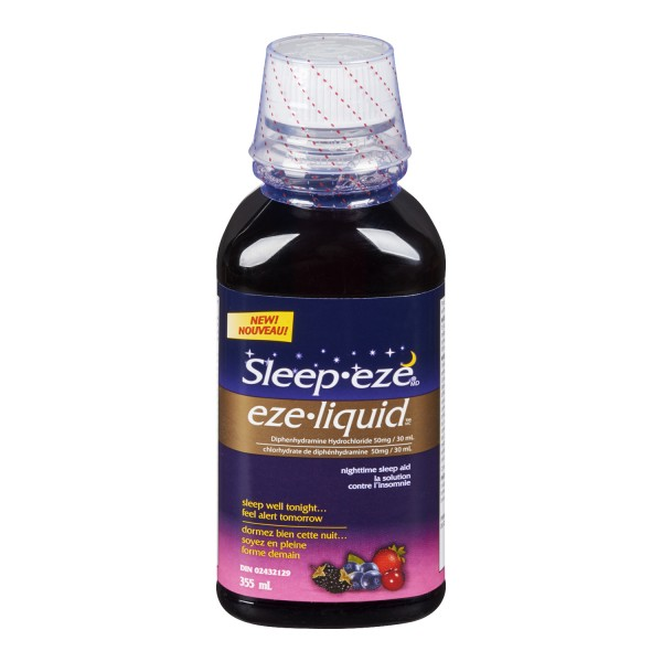 Buy Sleep Eze Liquid Nighttime Sleep Aid In Canada Free