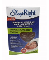SleepRight Intra-Nasal Breathe Aid