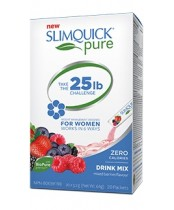 SlimQuick Pure Weight Management Drink Mix Packets