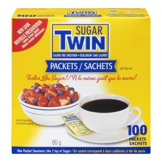 Sugar Twin Calorie Free Sweetener Packets