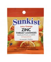Sunkist Zinc Throat Lozenges
