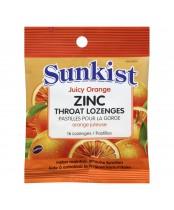 Sunkist Zinc Throat Lozenges