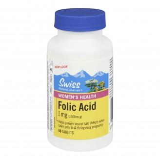 Swiss Natural Sources Folic Acid