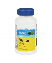 Swiss Natural Sources Valerian Soft Gels