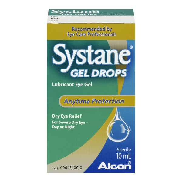 Treadmill Dry Lube: Buy Systane Gel Drops Lubricant Eye Gel