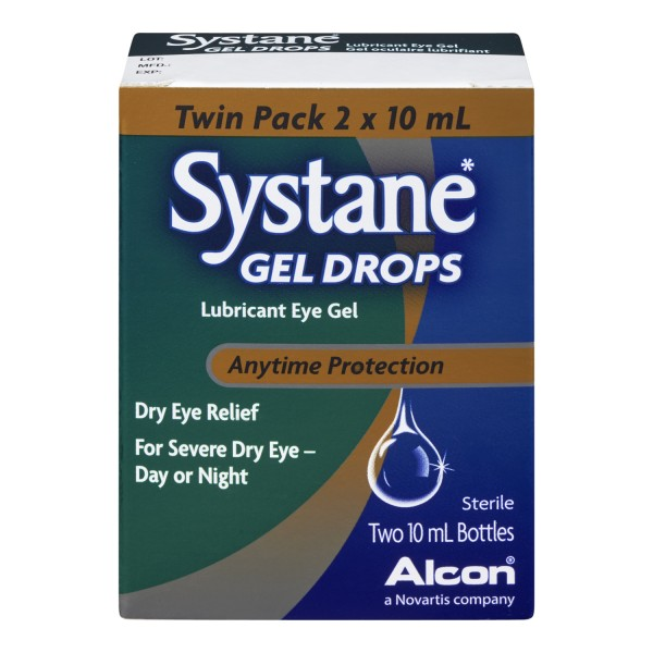 Treadmill Dry Lube: Buy Systane Lubricant Eye Gel Drops Twin Pack In Canada