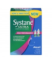 Systane Ultra Eye Drops Home and Away Pack