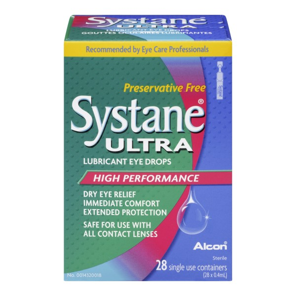 Buy Systane Ultra Lubricant Single Use Eye Drops In Canada