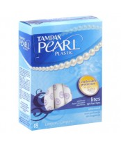 Tampax Pearl Plastic Unscented Tampons