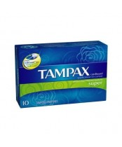 Tampax Unscented Tampons with Biodegradable Cardboard Applicator